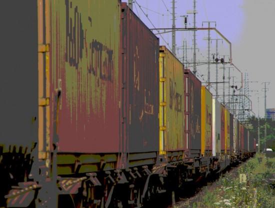 Containerfahrt